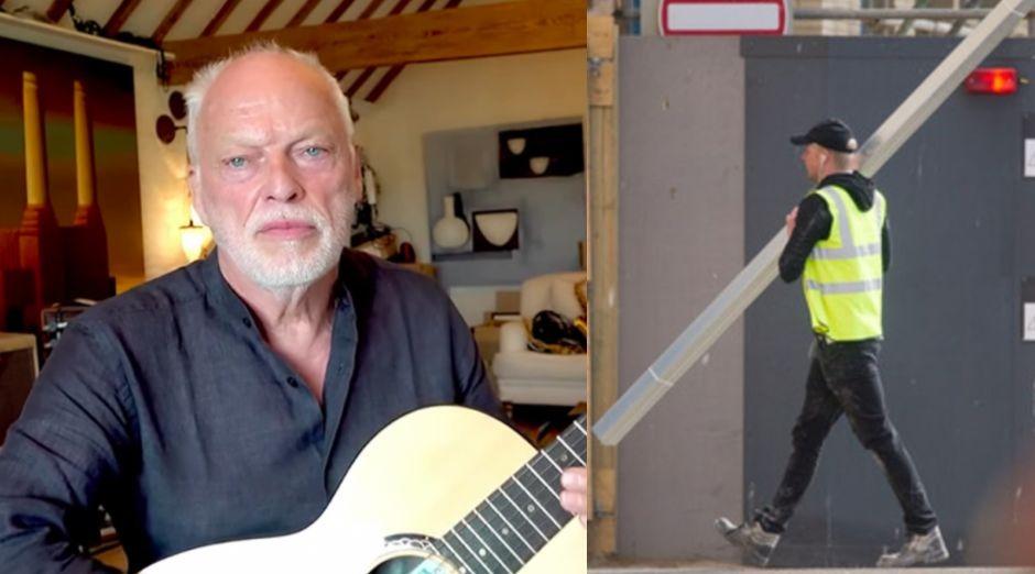 David Gilmour construction