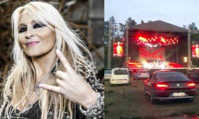 Doro Pesch drive in concert