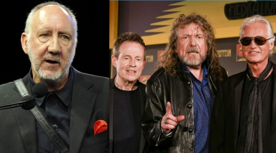 Pete Townshend Led Zeppelin