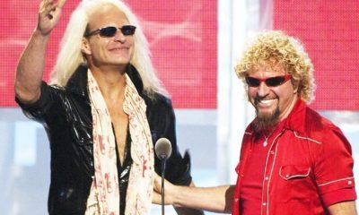 Van Halen Sammy Hagar Lee Roth