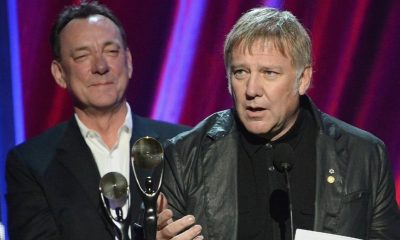 Alex Lifeson and Neil Peart