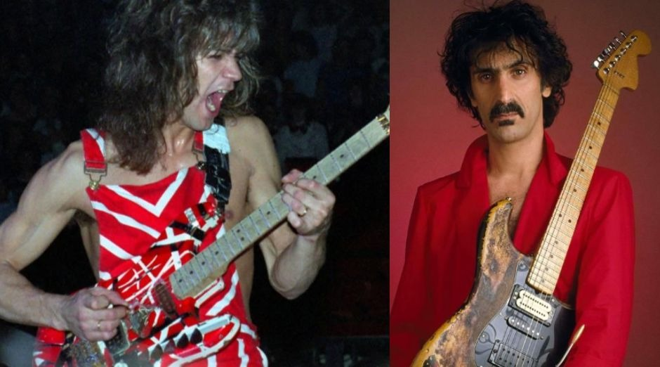Eddie Van Halen Frank Zappa