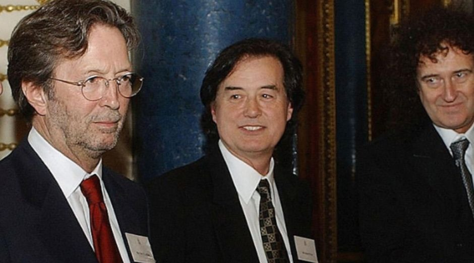 Eric Clapton Jimmy Page