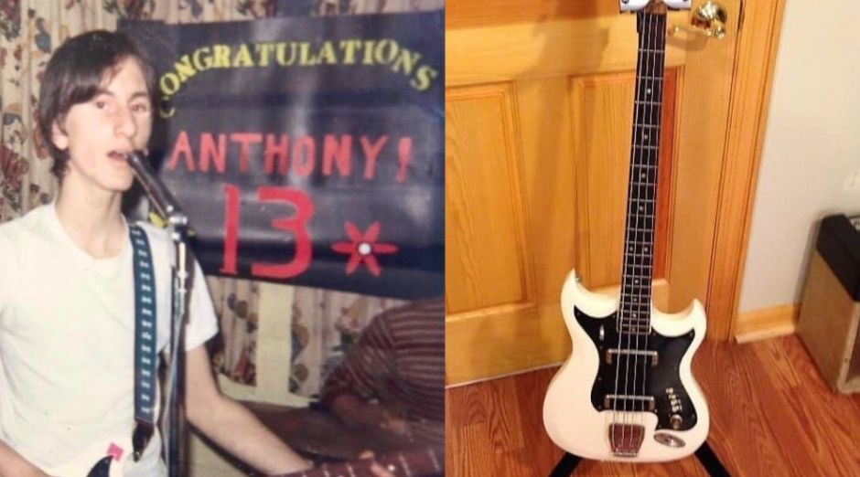 Geddy Lee young