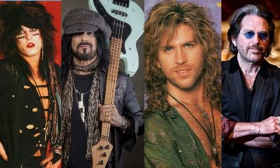 How Glam rock bassists from the 80s look like nowadays