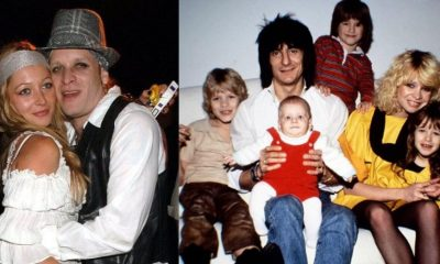 Ronnie Wood sons