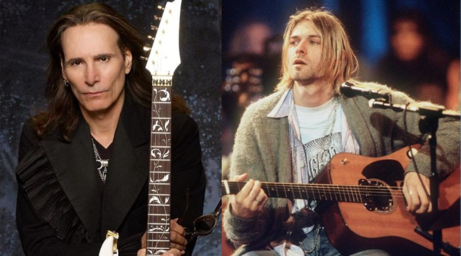 Steve Vai Kurt Cobain