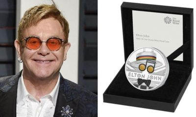 Elton Join coin