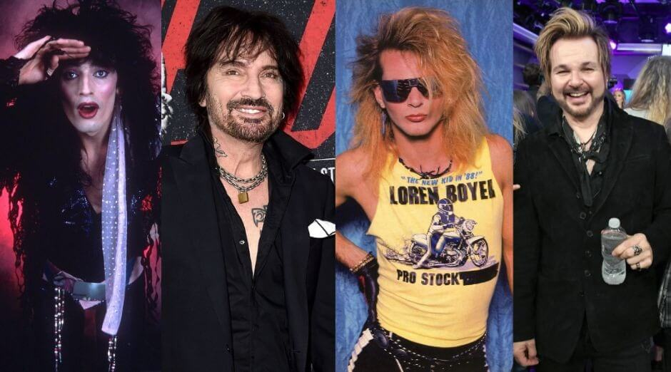 Glam Rock drummers from the 80s nowadays