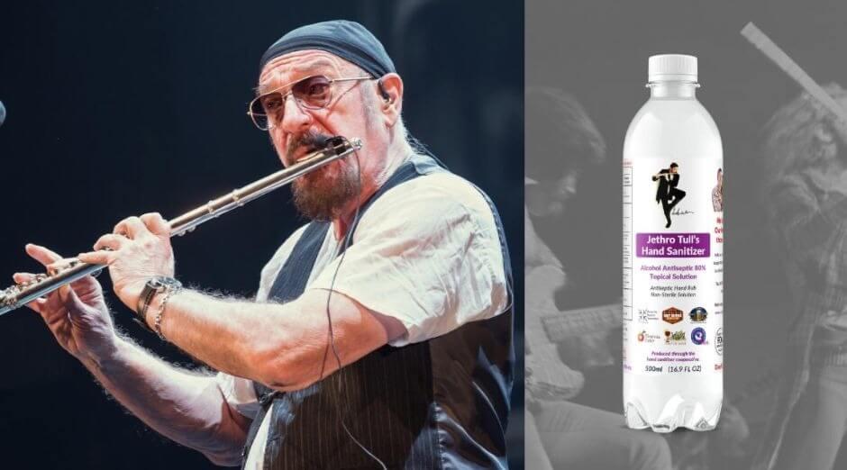 Jethro Tull disinfectant