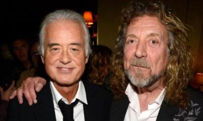 Jimmy Page Robert Plant