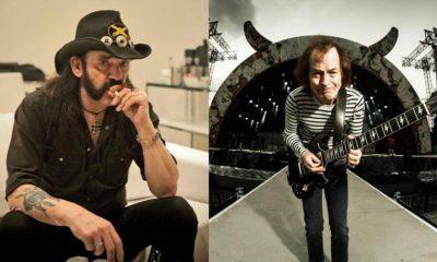 Lemmy Kilmister Angus Young