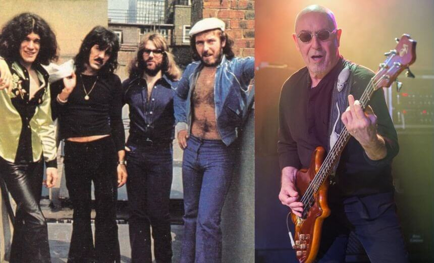 Nazareth - Love hurts Pete-Agnew-now-and-then