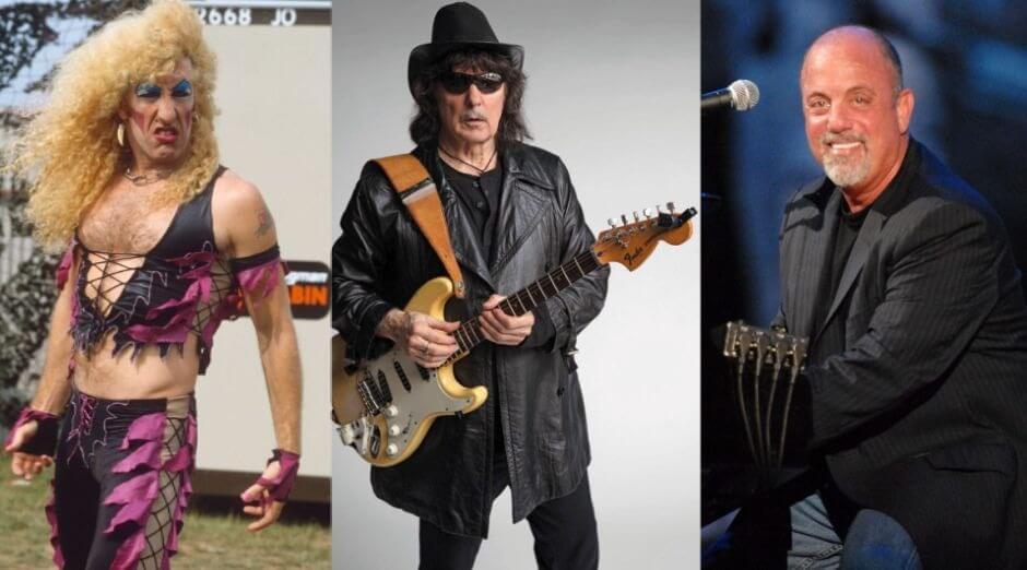Dee Snider Blackmore Billy Joel