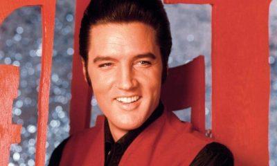 Elvis Presley red