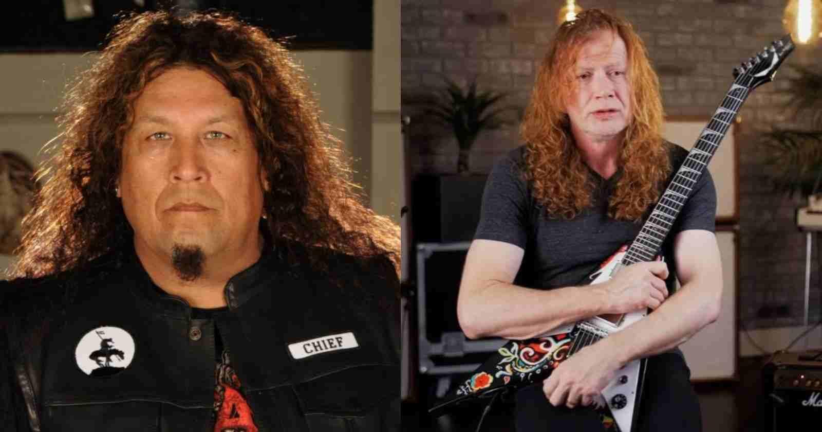 Dave Mustaine Chuck Billy