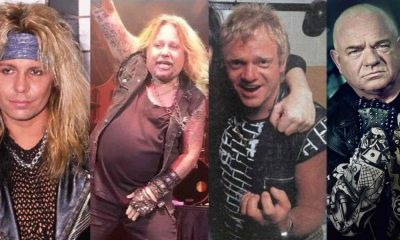 Heavy Metal singer now and then