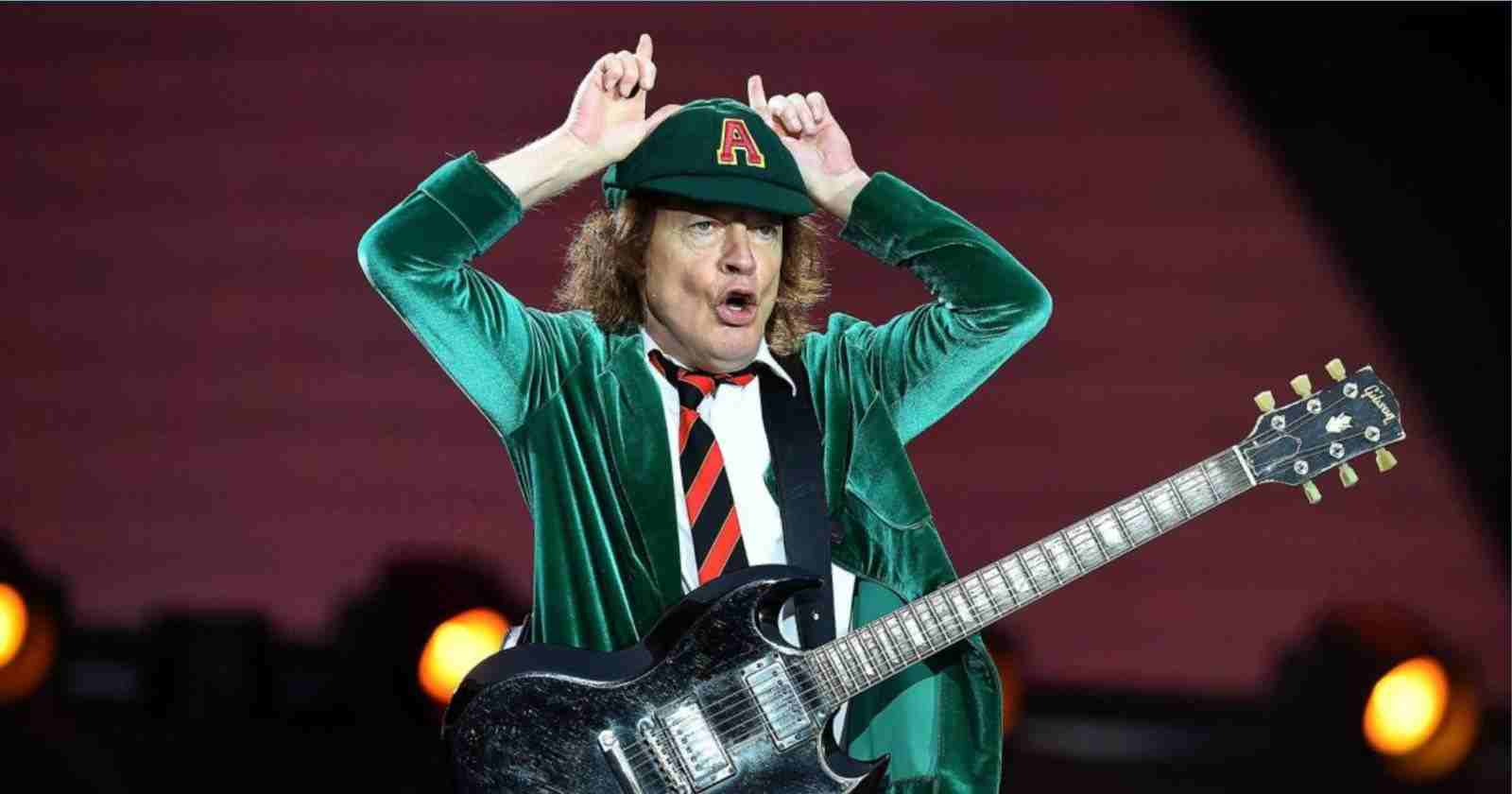 Angus Young devil