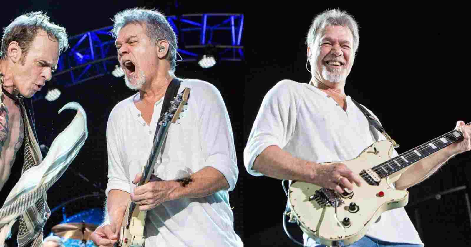Eddie Van Halen last concert