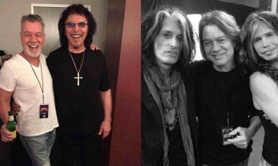 Eddie Van Halen rockstars