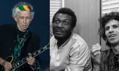 Keith Richards Jimmy Cliff