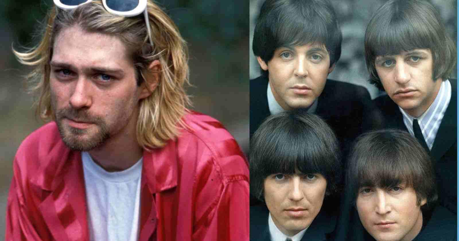Kurt Cobain Beatles