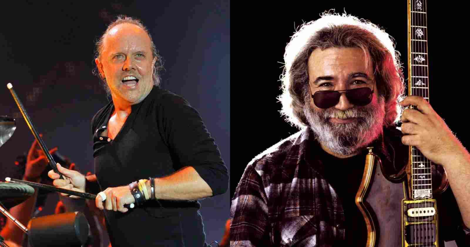 Lars Ulrich Jerry Garcia