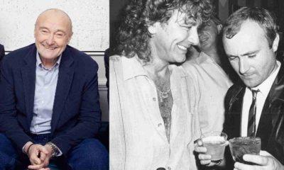 Phil Collins Robert Plant