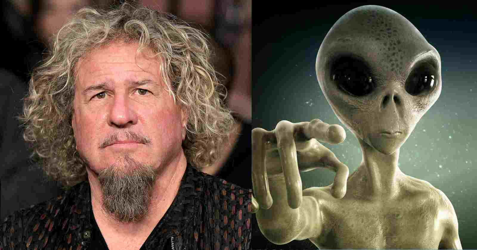Sammy Hagar Alien