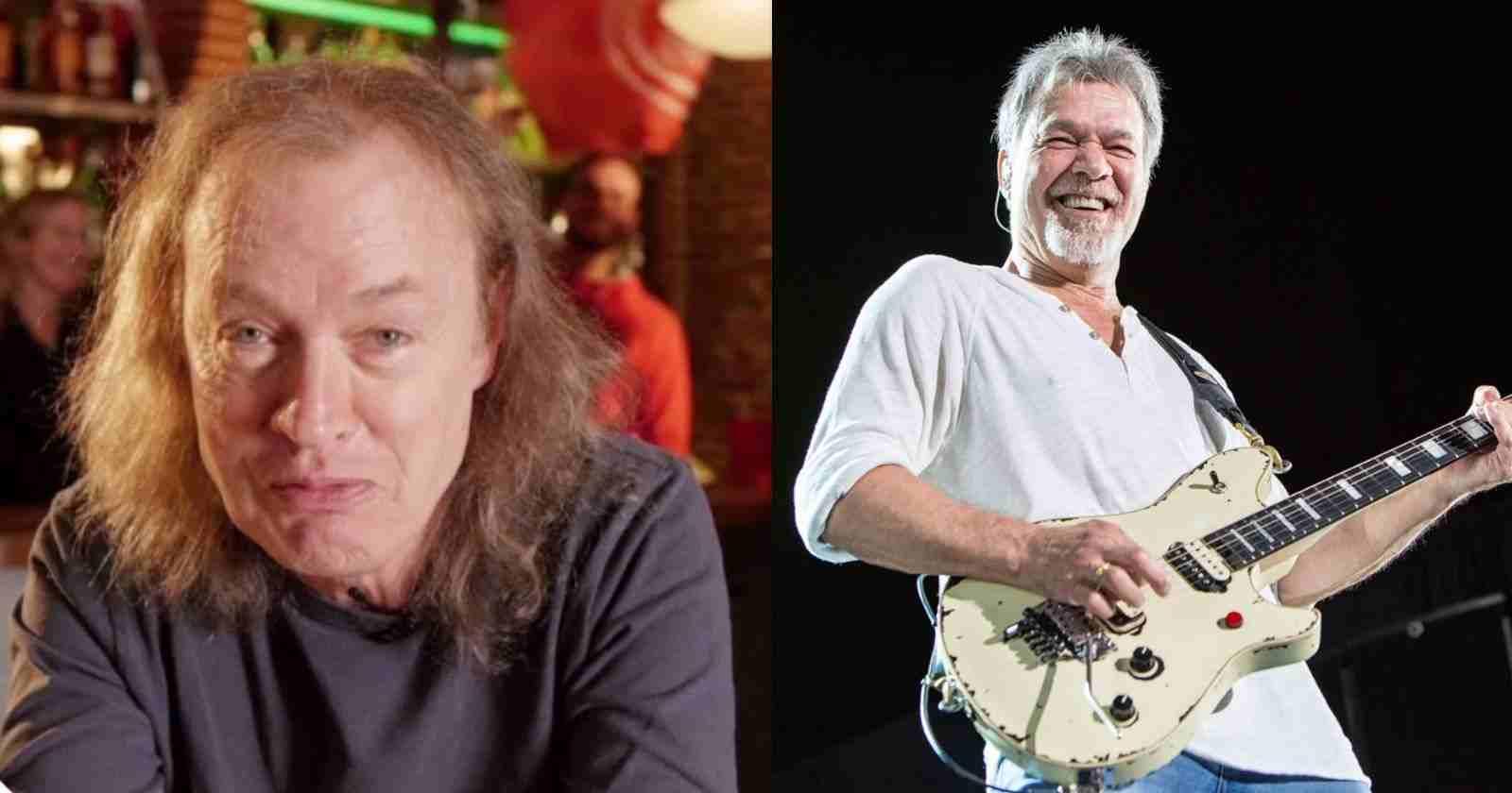 Angus Young Van Halen