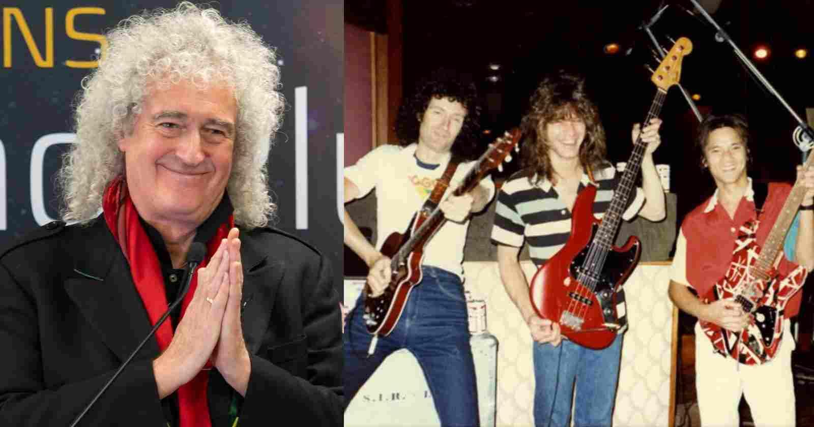 Brian May Van Halen