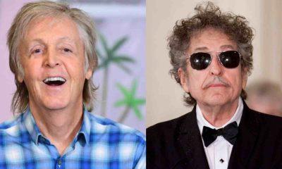 Paul McCartney Bob Dylan