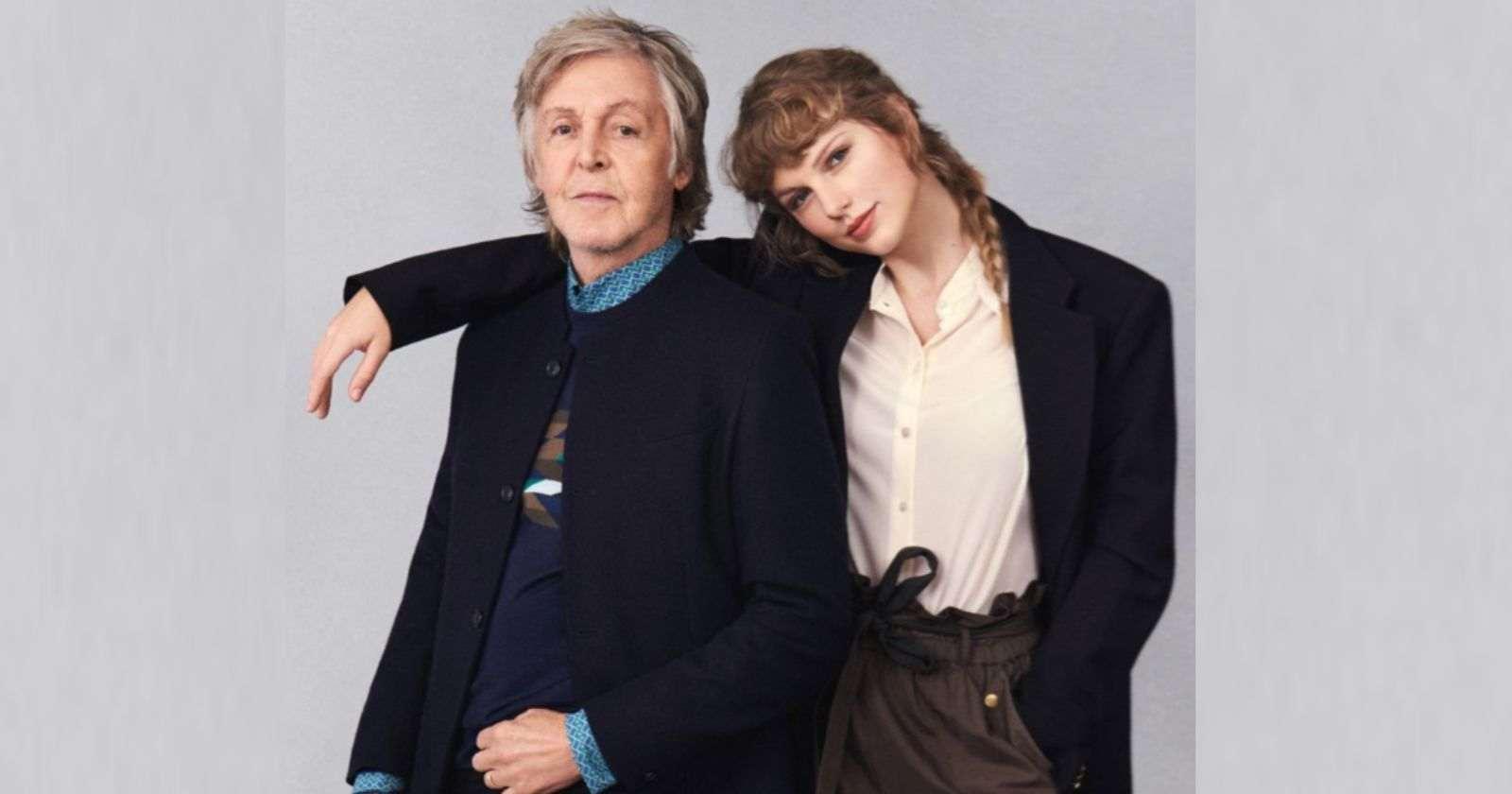 Paul McCartney Taylor Swift