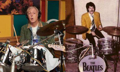 Paul McCartney drums
