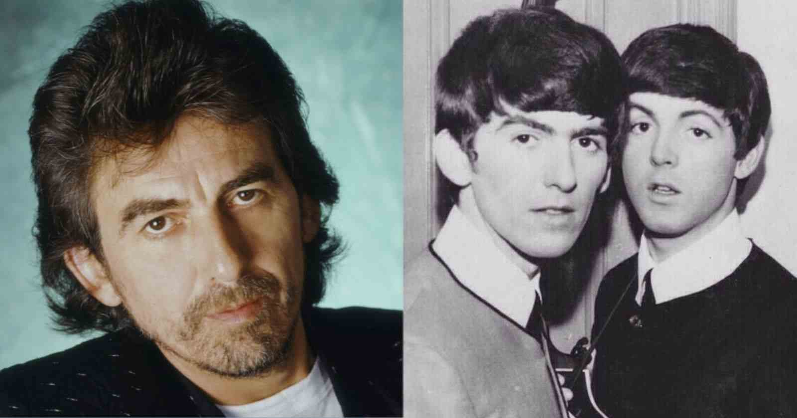 George Harrison Paul McCartney