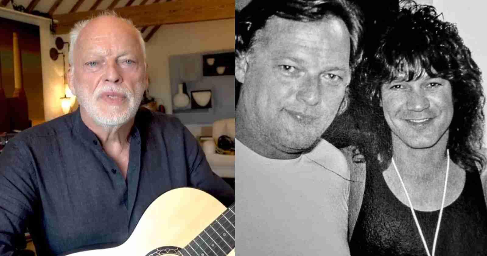 David Gilmour Van Halen