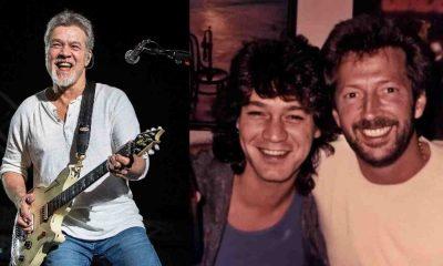 Eddie Van Halen Eric Clapton