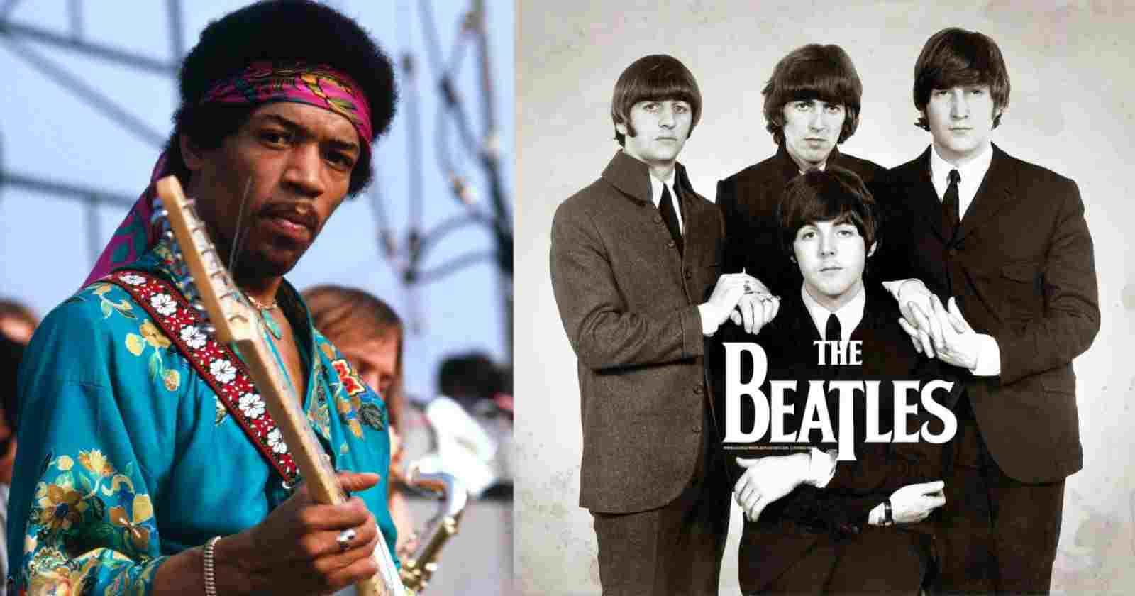 Jimi Hendrix Beatles