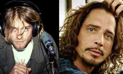 Kurt Cobain Chris Cornell