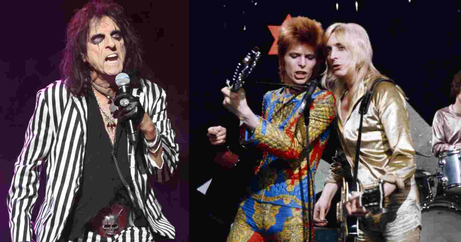 Alice Cooper David Bowie