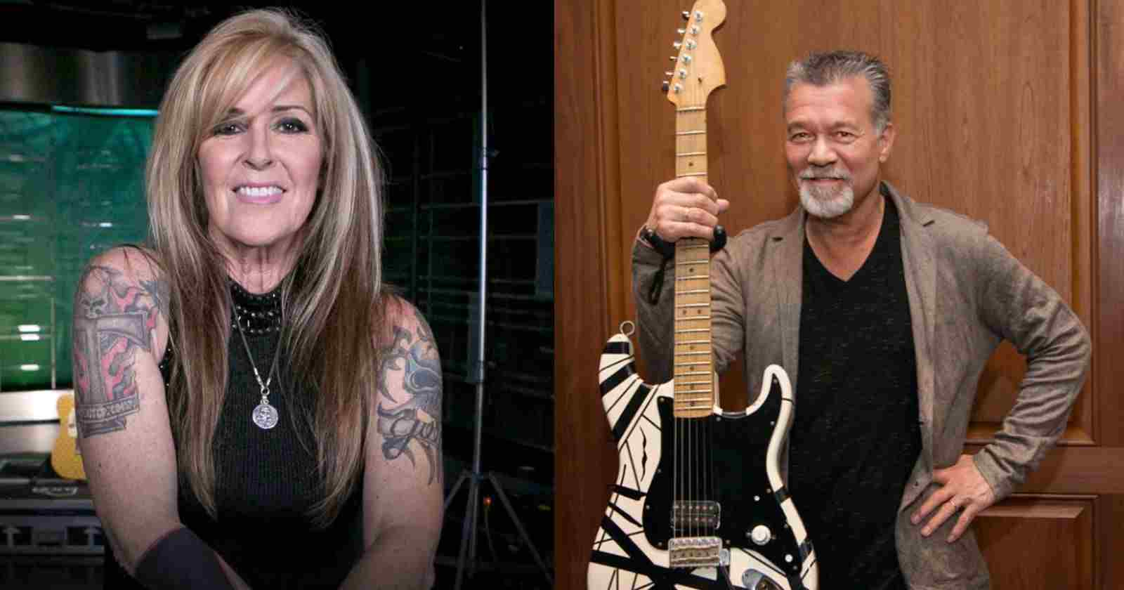 Lita Ford Van Halen