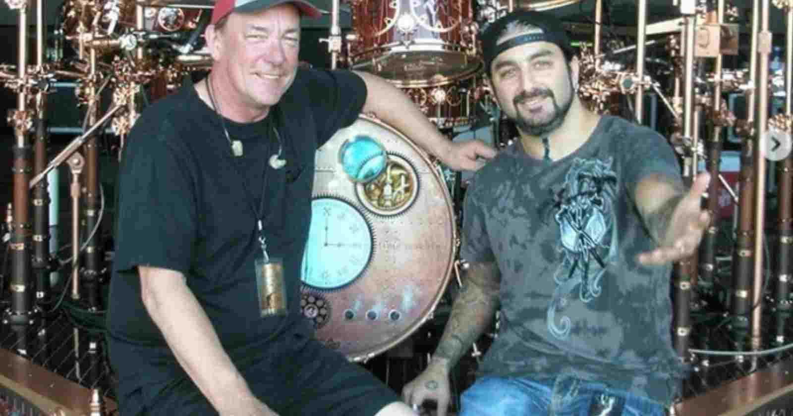 Neil Peart Mike Portnoy