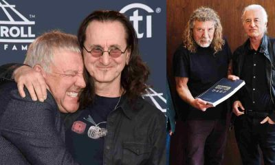 Geddy Lee Alex Lifeson