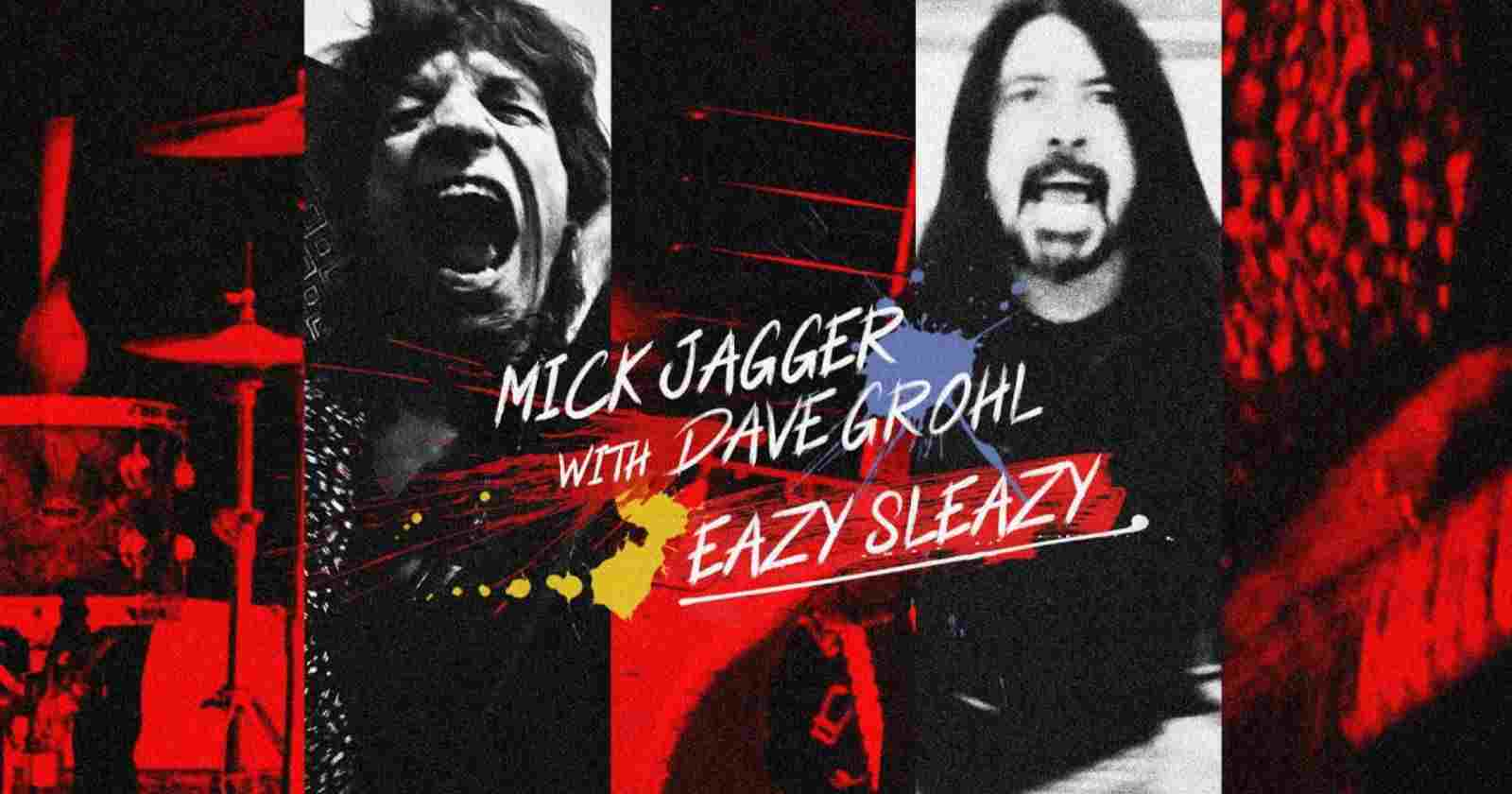 Mick Jagger Dave Grohl