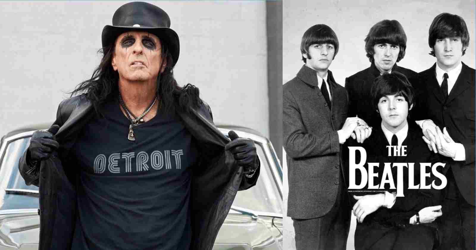 Alice Cooper Beatles