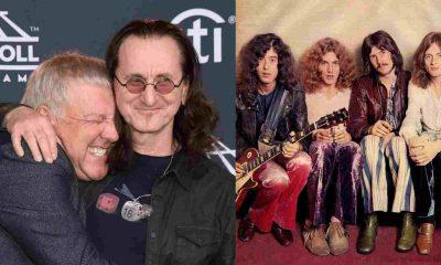Geddy Lee Led Zeppelin