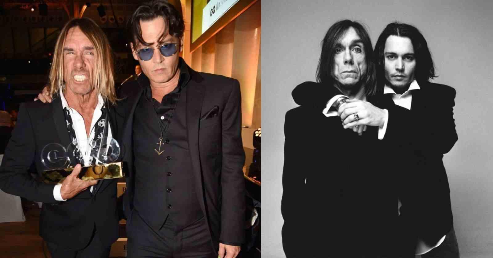 Johnny Depp Iggy Pop
