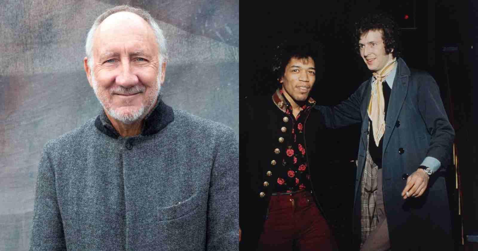 Pete Townshend Hendrix Clapton