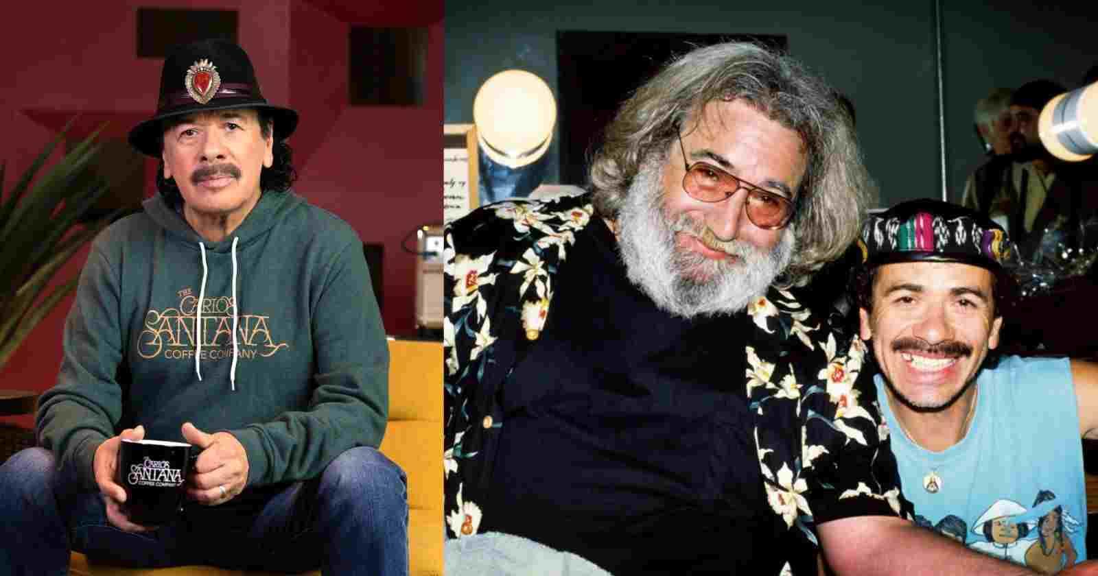 Carlos Santana's favorite funny memory of Woodstock with Jerry Garcia