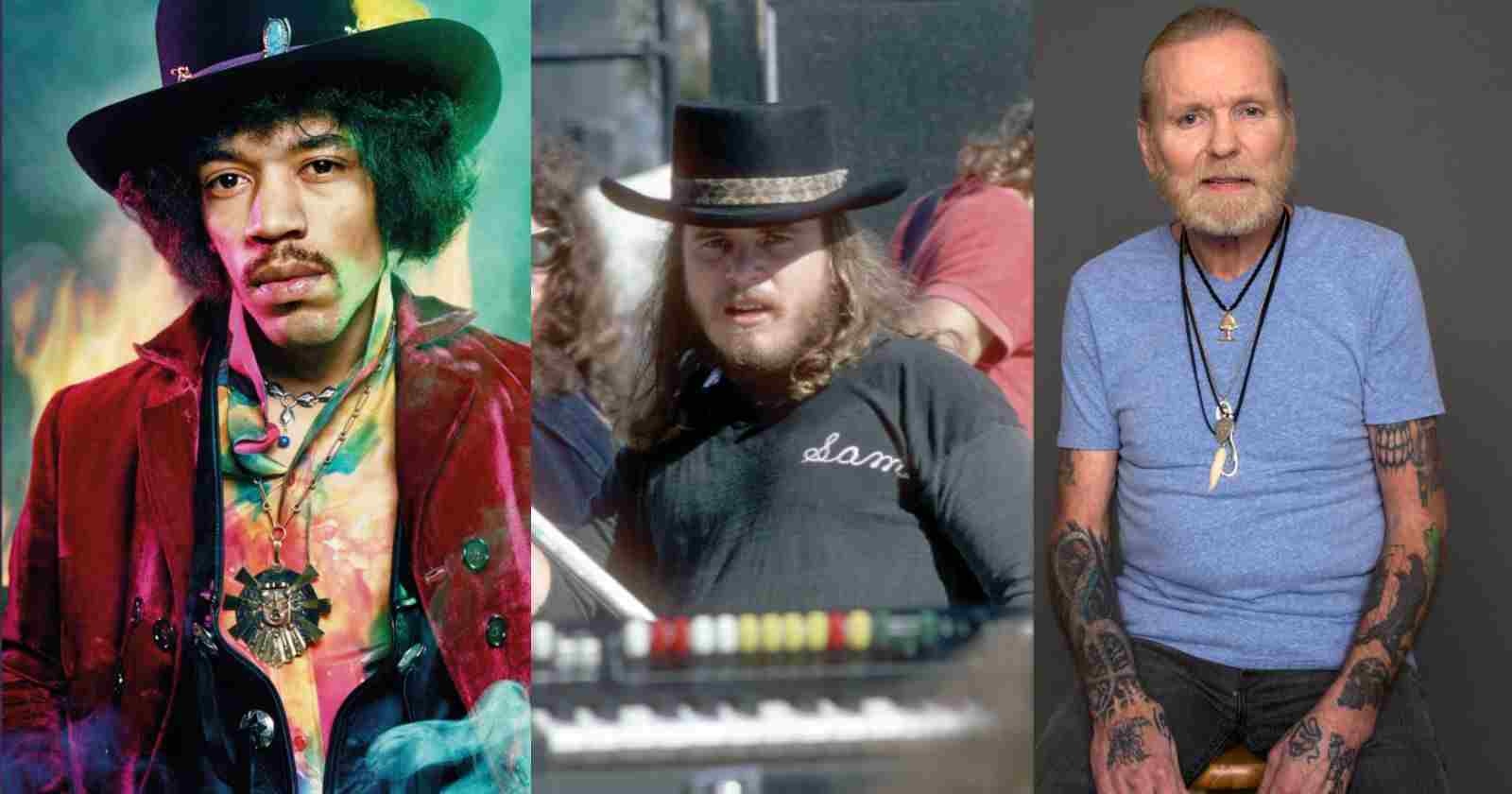 Jimi Hendrix Lynyrd Skynyrd